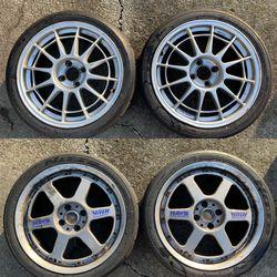 Enkei RCT1 & Volk GTP (4x100) for Sale in Federal Way,  WA