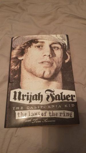 UFC Urijah Faber book for Sale in San Antonio, TX
