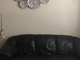 Black Leather Living Room Set for Sale in Apopka,  FL