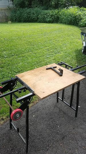 Miter saw table w outfeed extensions for Sale in Johnson City, NY