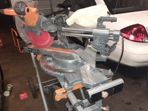 Ridgid Hitachi Ryobi miter saws for Sale in Baltimore, MD