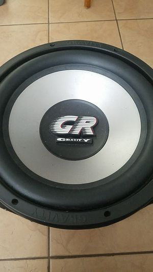 """12"""" GRAVITY Subwoofer for Sale in Newman, CA"""
