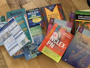 Nursing LVN CNA text books for Sale in Concord, CA