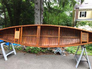 18' Chestnut Canoe for Sale in Natick, MA