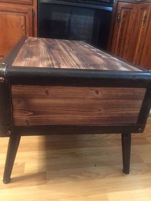 Beautiful wooden coffee table like new south philly for Sale in Philadelphia, PA