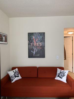 Red Sofa Bed for Sale in Arlington, VA