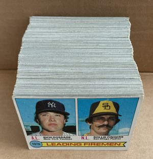 Large lot of 1979 Topps Baseball Cards 200 total cards for Sale in Placentia, CA