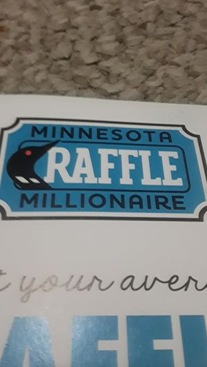 SOLD OUT MINNESOTA MILLIONAIRE RAFFLE for Sale in Rosemount, MN