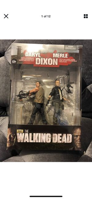 The Walking Dead Daryl & Merle Dixon Action Figure SetCondition is new for Sale in Fresno, CA