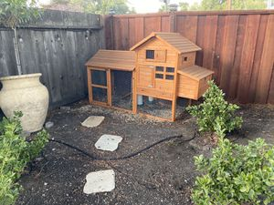 Outdoor Chicken Coop and Supplies for Sale in Redwood City, CA