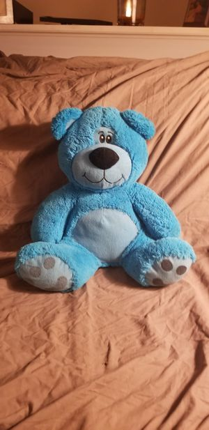 Large blue teddy bear for Sale in Columbus, OH