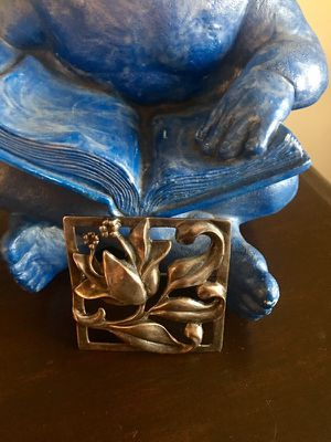Georg Jensen inspired sterling brooch for Sale in Chicago, IL