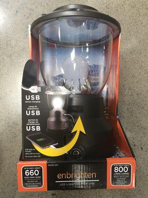 Enbrighten led lantern for Sale in Honolulu, HI