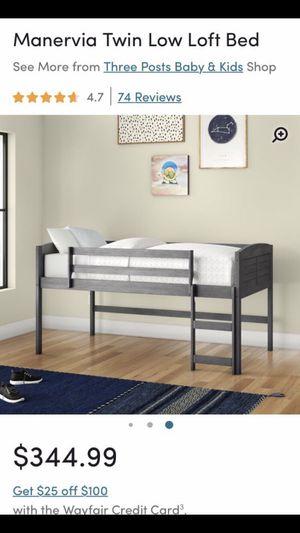 Twin Loft Bed for Sale in Kingsburg, CA