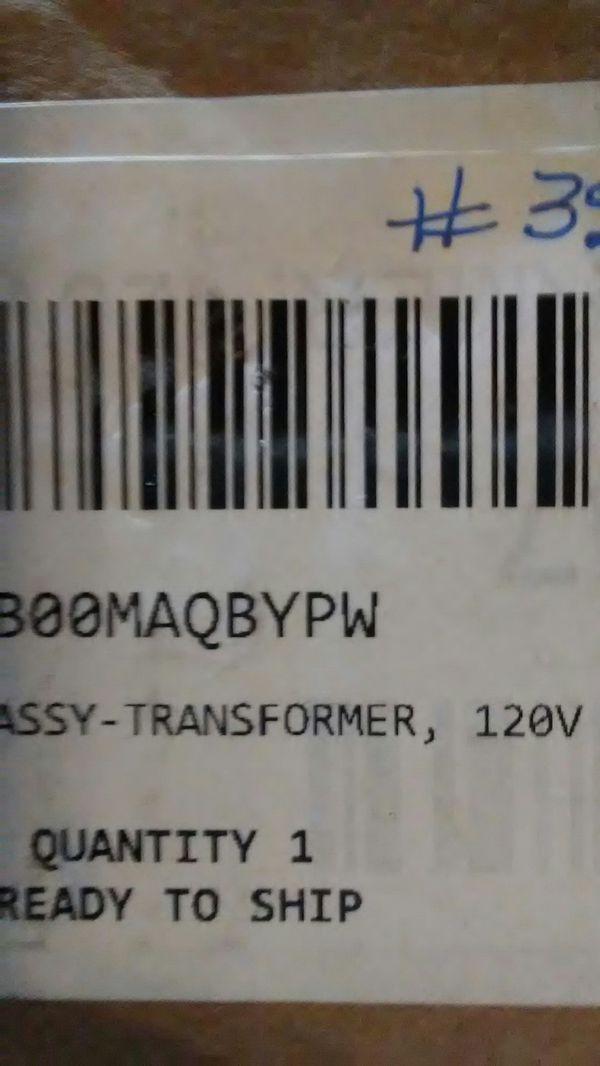 Transformer 120v #60207