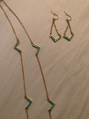 Necklace and Earrings Set for Sale in Amarillo, TX