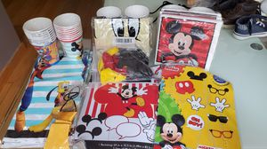 Mickey mouse theme party decorations. for Sale in Everett, WA