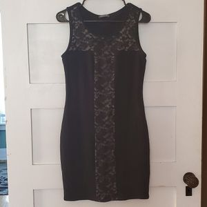 Black Dress with Lace size L for Sale in Woburn, MA