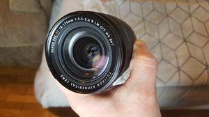 fujinon xf18-135 lens for Sale in Portland, OR