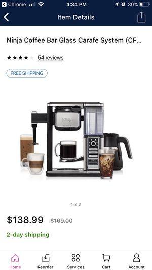Ninja coffee bar for Sale in Dittmer, MO
