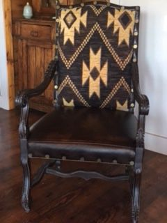 2 beautiful chairs. Leather. Priced as each for Sale in Ridgway, CO