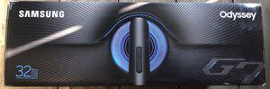 SAMSUNG 32-inch Odyssey G7 for Sale in Roseville, CA