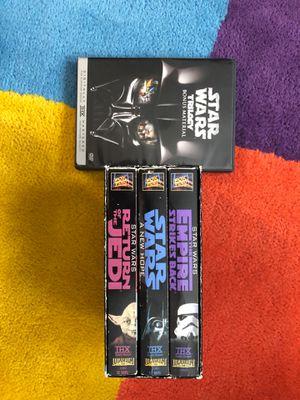Star Wars trilogy DVR+ Star Wars trilogy bonus material disc for Sale in Indian Trail, NC