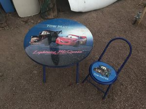 Kids table and chair for Sale in Chandler, AZ