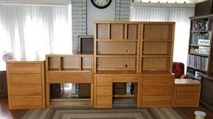 7 Piece Kids Oak Bedroom Set for Sale in Phoenix, AZ
