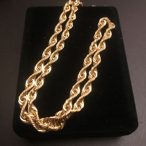 10k Gold Rope chain for Sale in Hollywood, FL