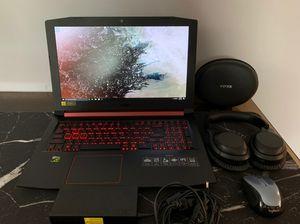 !!Bundle!! Acer Nitro 5 gaming laptop bundle for Sale in Dearborn Heights, MI