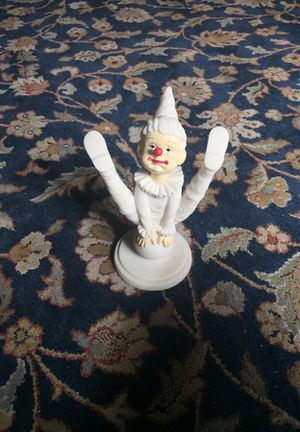 White Clown Figurine for Sale in Leavenworth, WA