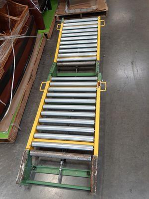 Forklift battery handling rollers transfer platform for Sale in Portland, OR