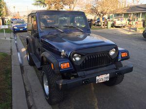 2002 Jeep Wrangler for Sale in Modesto, CA