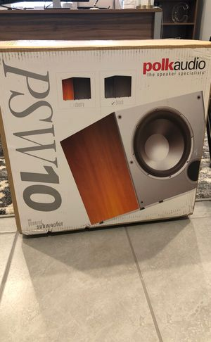 "Polk Audio 10"" Subwoofer (Black) for Sale in Scottsdale, AZ"