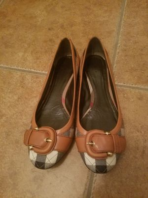 Burberry flats shoes for Sale in Houston, TX