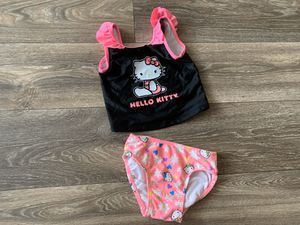 Hello kitty bathing suit size 3T for Sale in Fort Campbell, TN