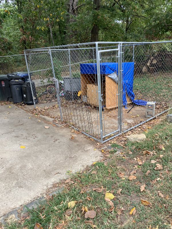 Dog kennel and home made dog house