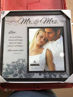 Wedding Picture Frame for Sale in Gardendale, TX