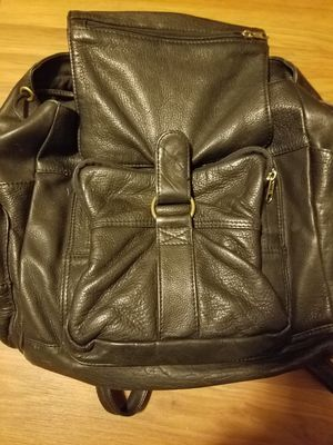 Leather backpack for Sale in Peoria Heights, IL