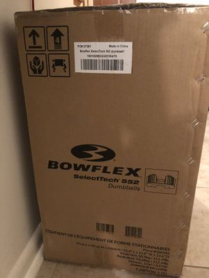 Bowflex SelecTech 552 Adjustable Dumbbells Set **IN-HAND** for Sale in Silver Spring, MD