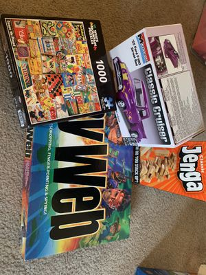 Board Games, Puzzle, Car Model for Sale in Denver, CO