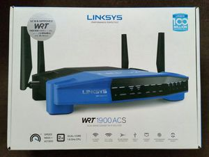 Linksys WRT1900ACS on OpenWRT Firmware for Sale in Riverside, CA