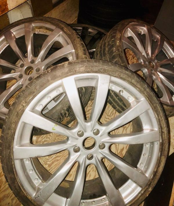 22 in wheels and tires 265 30 zr 22 5x114.3 or 5x4.5 ford