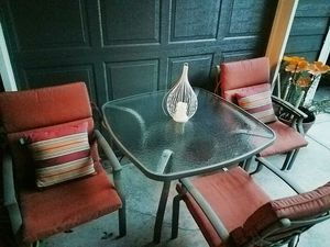 Outdoor metal patio furniture set for Sale in Kenmore, WA