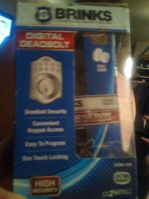 Digital Deadbolt door knob for Sale in Broken Arrow, OK