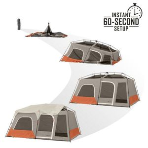10 person 60 second instant cabin tent for Sale in Manassas, VA