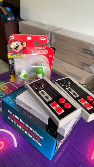** SUPER SPECIAL **Retro console built in 620 classic games Arcade Games 🕹 + Yoshi World of Nintendo FREE for Sale in Hallandale Beach, FL