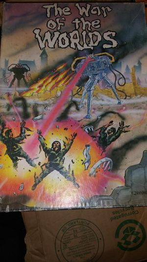 The war of the worlds rpg board game. for Sale in Vancouver, WA