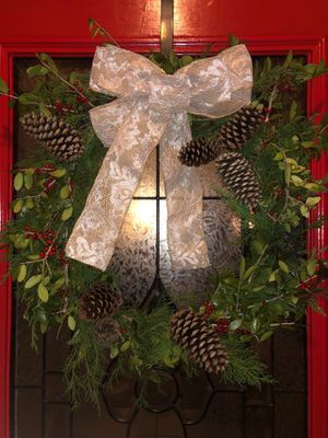Locally foraged holiday wreaths for Sale in Todd Mission, TX